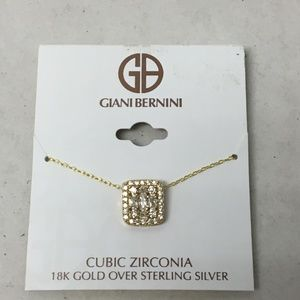 Giani Bernini Cubic Zirconia Gold Sterling Silver